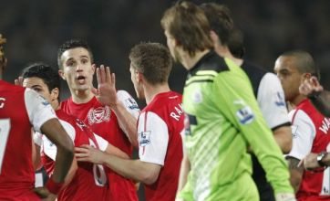 Newcastle's Jonas Gutierrez criticises Robin van Persie for taunting Tim Krul
