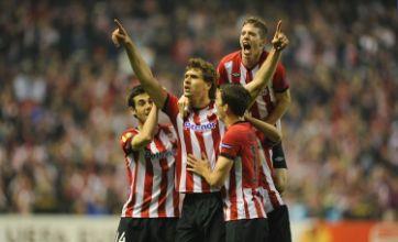 Bilbao send Manchester United home despite Wayne Rooney's late strike