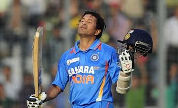 Sachin Tendulkar scores 100th international century for India