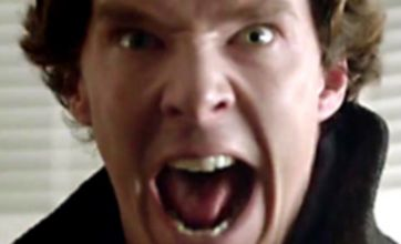 Benedict Cumberbatch takes on new role as otter lookalike
