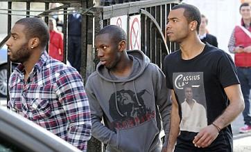 Fabrice Muamba speaks to Bolton manager Owen Coyle