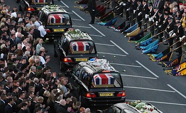 Thousands pay respects as soldiers killed in Afghanistan repatriated
