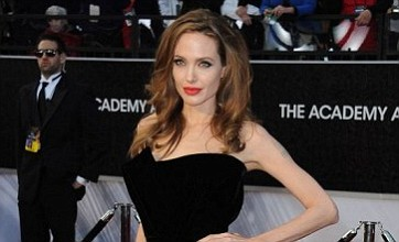 Angelina Jolie linked to Kate Middleton film as she laughs off Oscars leg fuss