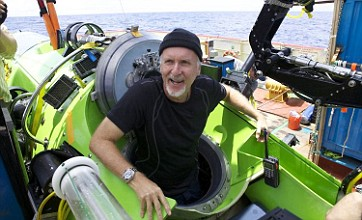 James Cameron completes solo mission to deepest point of the ocean