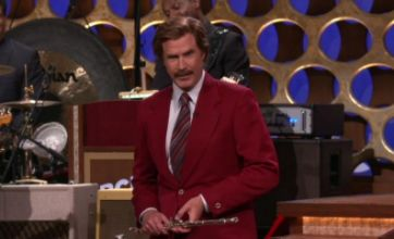 Anchorman 2 confirmed by Will Ferrell dressed as Ron Burgundy on Conan