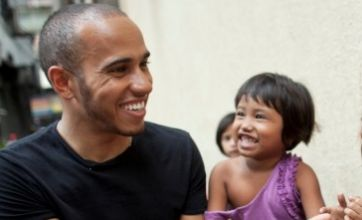 Lewis Hamilton snubs F1 party to visit poverty-stricken children in Far East