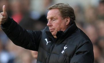 Harry Redknapp: Five wins will seal top four spot for Tottenham