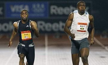 Double world champion Tyson Gay to avoid Usain Bolt 2012 double-header
