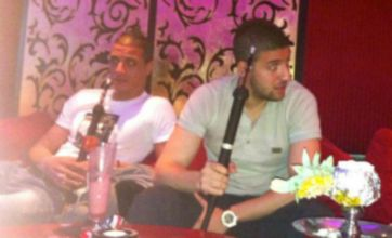 Marouane Chamakh and Adel Taarabt could face rap after shisha pipe photo