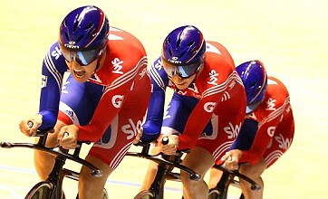 GB cycling trio storm to world championship gold in record time