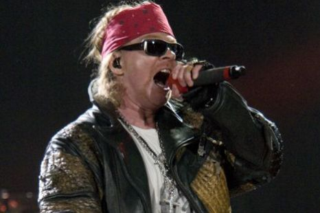 Axl Rose hall of fame