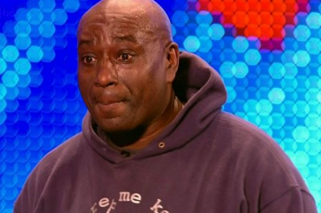 Mr Zip following Saturday's winning rendition of Lost My Keys, Lost My Phone on BGT (Picture: ITV)