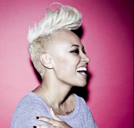 Emili Sande will lend her voice to the show that's all about the voice, The Voice (Picture: Twitter)