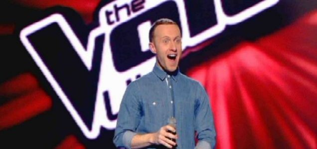 Jay Norton received a positive reaction on The Voice (Picture: BBC)