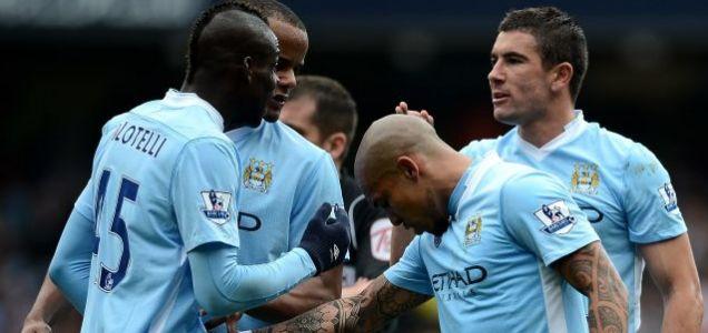 Mario Balotelli of Manchester City