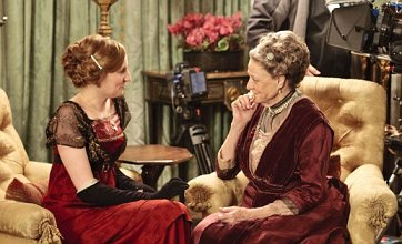 Dame Maggie Smith has 'asked Julian Fellowes to write her out of Downton Abbey'