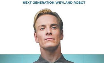 Prometheus poster introduces Michael Fassbender as android David