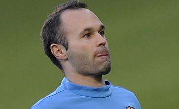 Barcelona's Andres Iniesta: We'll shake off Chelsea injustice