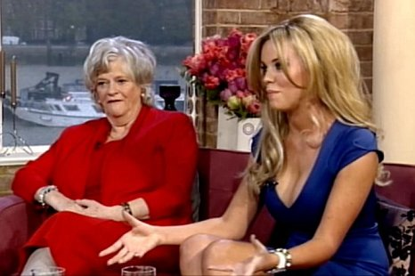 Maria Fowler, Ann Widdecombe, This Morning