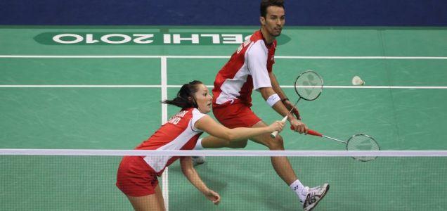 Nathan Robertson and Jenny Wallwork, Olympics.