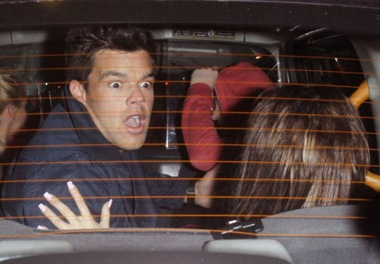 KATIE PRICE LEAVING NOBU WITH BOYFRIEND LEANDRO PENNA