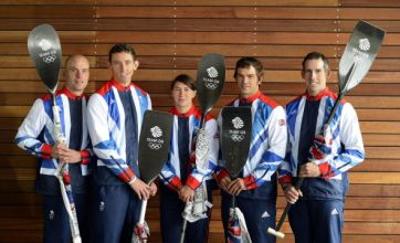 Five-strong slalom canoe team named for London 2012 following trials