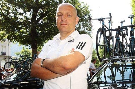 Team SKY Principal Dave Brailsford