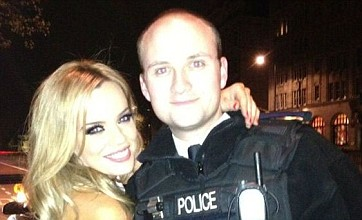 Ex TOWIE star Maria Fowler is pulled over by police – for a photo