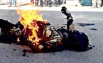 Shocking self-immolation on the rise in Tibet for desperate protesters