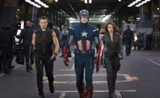 Hawkeye, Captain America, Black Widow, Avengers Assemble