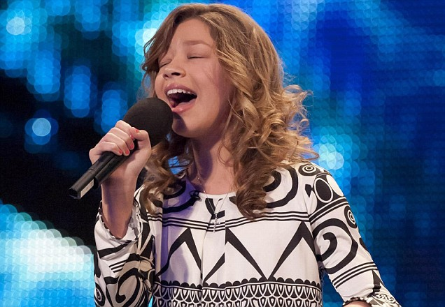 Singer Molly auditions on this week's Britain's Got Talent
