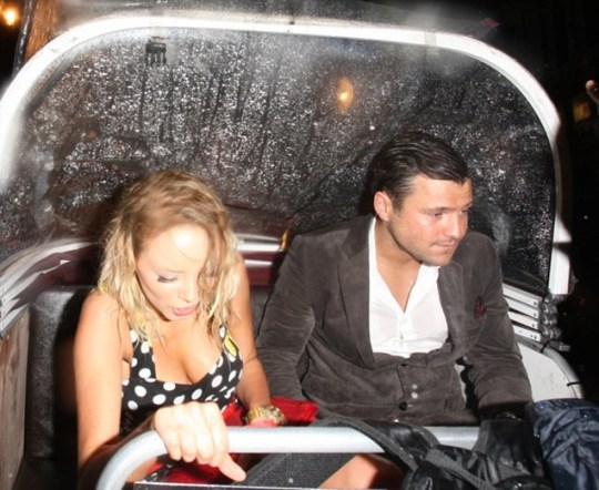 Sacha Parkinson, Mark Wright