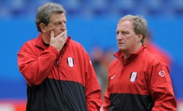 Fulham's Ray Lewington joins Roy Hodgson's England coaching team
