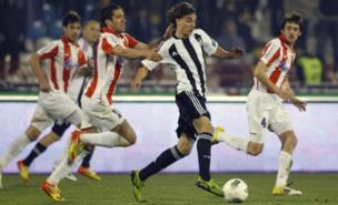 Lazar Markovic will stay at Partizan Belgrade for another year (Getty Images)
