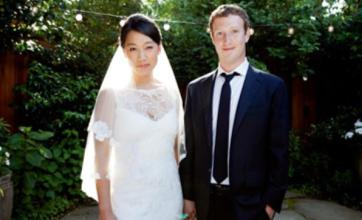Facebook founder Mark Zuckerberg marries Priscilla Chan
