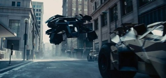 New The Dark Knight Rises trailer shows off the Batwing