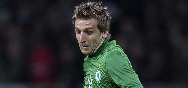 Werder Bremen's midfielder Marko Marin