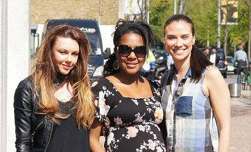 Liberty X to reunite? Michelle, Jessica and Kelli snapped together at ITV studios