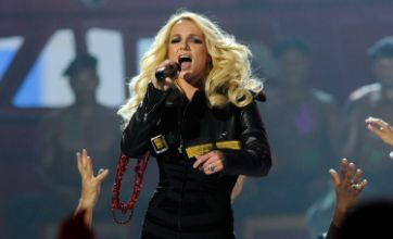Britney Spears hits back at The Wanted after tour claims