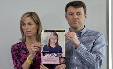 Kate and Gerry McCann: We're sure we'll find missing Maddie