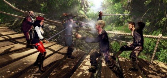 Risen 2: Dark Waters (PC) - parrot fashion
