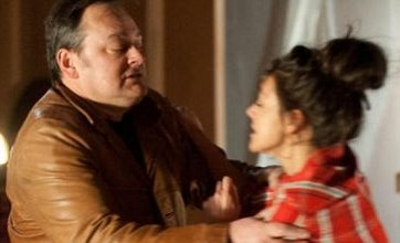 Coronation Street pictures: Tina McIntyre unconscious after attack