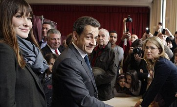 French election: Nicolas Sarkozy closes gap as voters head to the polls
