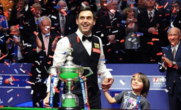 Ronnie O'Sullivan lifts fourth world title and rules out retirement