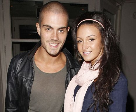Max George from The Wanted and Coronation Street actress Michelle Keegan