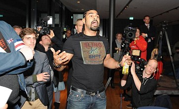 David Haye v Dereck Chisora grudge fight given green light by Luxembourg