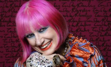 Fashion icon Zandra Rhodes faces a tall challenge to dress a 10m puppet