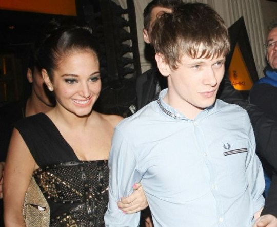 Tulisa and Jack O'Connell
