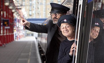 Tony Robinson teaches railway staff to deliver joke announcements