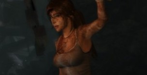 Tomb Raider - she'll catch her death in that